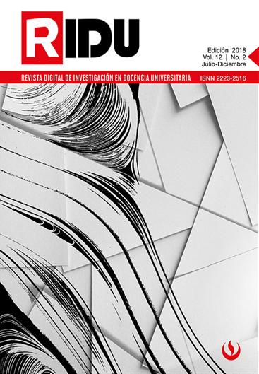 RIDU - Vol. 12 Nro. 2 julio-diciembre 2018 (Temática: Competencias y cualificaciones en Educación Superior)